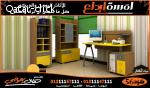 غرف اطفال 2سرير تقسيمات دواليب غرف ومساحات غرف بسيطه اطفال
