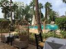 فيلا راقية للإيجار 8 غرف ماستر عصرية بمدينة مراكش المغربية ا
