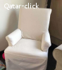 Chair with cover