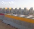 Concrete Barriers 3 & 3. 8 M
