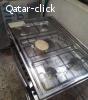 Cooking range 5 burners