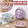 Folding foot tub