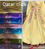توفر موديلات و ألوان جديدة من جلابيات الدوحة مطرزات و مشغولا