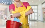 عاملات تنظيفات وغسيل وكوي وجليسات أطفال