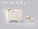 صندوق للعرائس مع إطار ذهبى