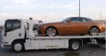 شحن ونقل السيارات والدراجات على سطحات هيدروليك خاصة