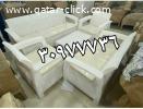 أحدث انواع الجلسات الخارجيه والكراسي