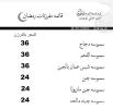 قائمة مفرزات رمضان