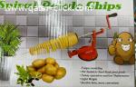 ماكينة تقطيع البطاطس الحلزونية