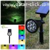اضاءة الحديقة بالطاقة الشمسية