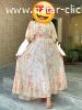 فستان شيفون مع بطانة و مقاسات