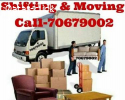 Moving shifting carpenter and transportation services